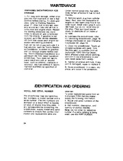 Toro 38054 521 Snowthrower Owners Manual, 1992 page 24
