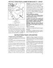 Toro 38054 521 Snowthrower Manuel des Propriétaires, 1990 page 11