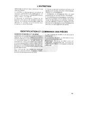 Toro 38054 521 Snowthrower Manuel des Propriétaires, 1990 page 19