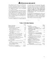 Toro 38054 521 Snowthrower Manuel des Propriétaires, 1990 page 3