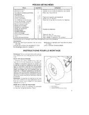 Toro 38054 521 Snowthrower Manuel des Propriétaires, 1990 page 5