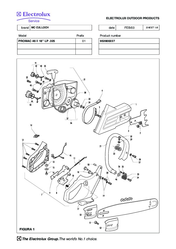 Mcculloch Pm 480 Chainsaw Manual