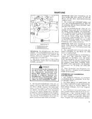 Toro 38052C 521 Snowthrower Laden Anleitung, 1988 page 17