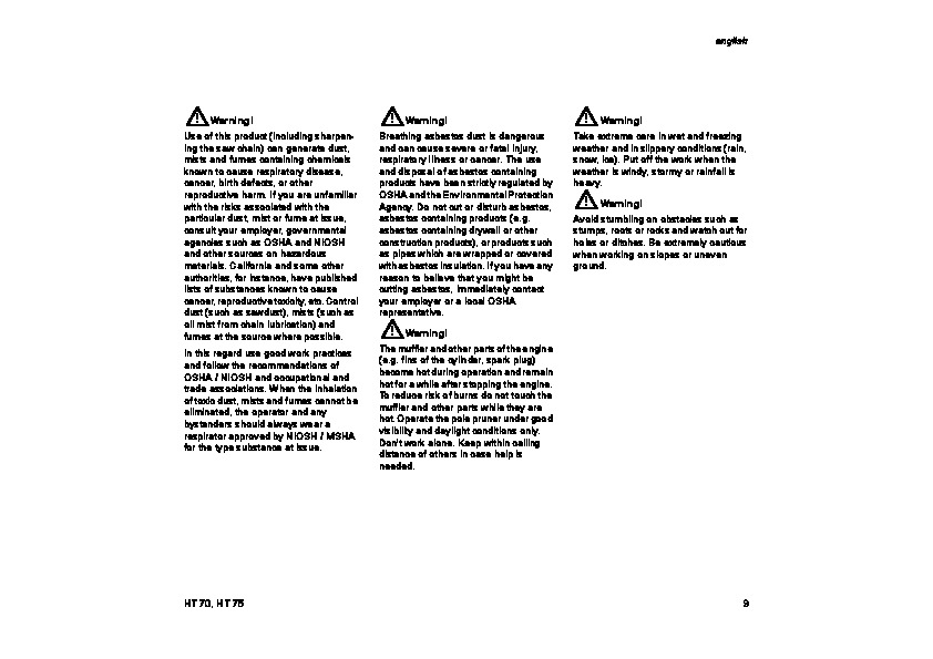 Stihl 98 Manual