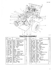 Toro 38054 521 Snowthrower Parts Catalog, 1995 page 3