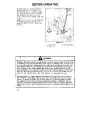 Toro 38054 521 Snowthrower Owners Manual, 1993 page 12