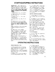 Toro 38054 521 Snowthrower Owners Manual, 1993 page 15