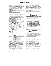 Toro 38054 521 Snowthrower Owners Manual, 1993 page 22