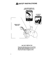 Toro 38054 521 Snowthrower Owners Manual, 1993 page 4