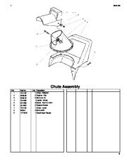 Toro 38026 1800 Power Curve Snowthrower Parts Catalog, 2004, 2005 page 5