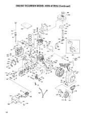 Toro 38054 521 Snowthrower Parts Catalog, 1991 page 10