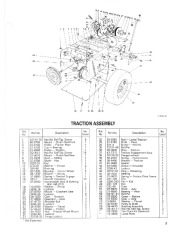 Toro 38054 521 Snowthrower Parts Catalog, 1991 page 3
