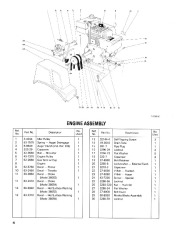 Toro 38054 521 Snowthrower Parts Catalog, 1991 page 4