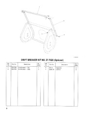 Toro 38054 521 Snowthrower Parts Catalog, 1991 page 6