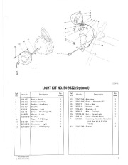 Toro 38054 521 Snowthrower Parts Catalog, 1991 page 7