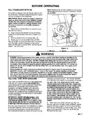 Toro 38054 521 Snowthrower Owners Manual, 1995 page 11