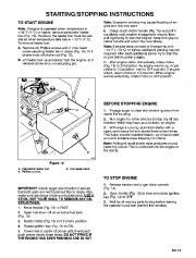 Toro 38054 521 Snowthrower Owners Manual, 1995 page 13