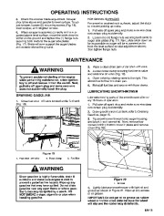 Toro 38054 521 Snowthrower Owners Manual, 1995 page 15