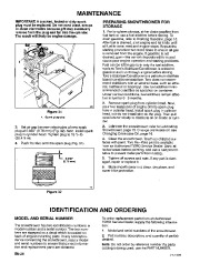 Toro 38054 521 Snowthrower Owners Manual, 1995 page 20