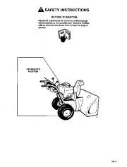 Toro 38054 521 Snowthrower Owners Manual, 1995 page 3