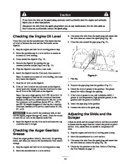 Toro 38053 824 Power Throw Snowthrower Owners Manual, 2002 page 19