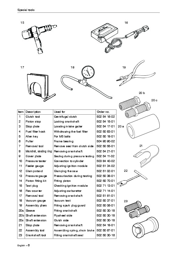 Husqvarna Chainsaw Worshop Manual 340 345 346 350 351 353 Manual Guide