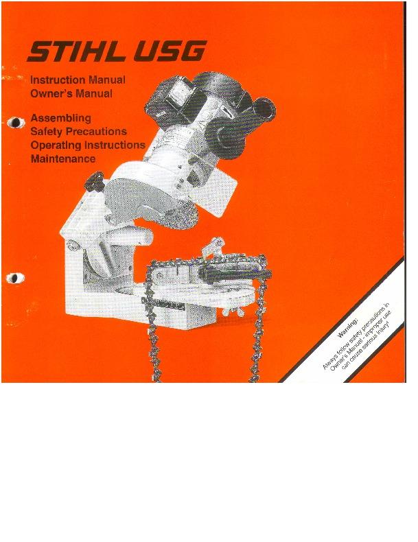 Stihl 045/056 Holy Grail Workshop Manual