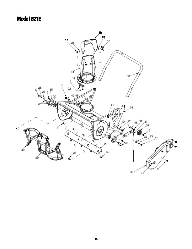 mtd cub cadet 521e snow blower owners owners manual