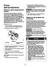 Toro 38053 824 Power Throw Snowthrower Manuale Utente, 2002 page 14