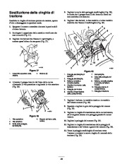 Toro 38053 824 Power Throw Snowthrower Manuale Utente, 2002 page 24