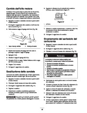 Toro 38053 824 Power Throw Snowthrower Manuale Utente, 2002 page 28