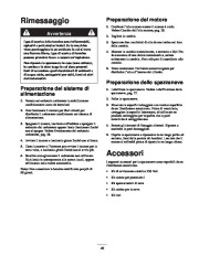 Toro 38053 824 Power Throw Snowthrower Manuale Utente, 2002 page 29