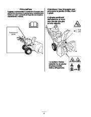 Toro 38053 824 Power Throw Snowthrower Manuale Utente, 2002 page 6