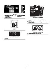 Toro 38053 824 Power Throw Snowthrower Manuale Utente, 2002 page 8