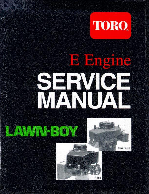 toro lawn boy e engine r tek dura force lawn mower service manual rh lawn garden filemanual com lawn boy service manual lawn boy service manual free