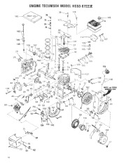 Toro 38052 521 Snowthrower Parts Catalog, 1984 page 10