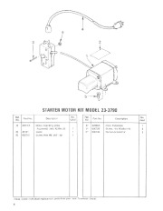 Toro 38052 521 Snowthrower Parts Catalog, 1984 page 6