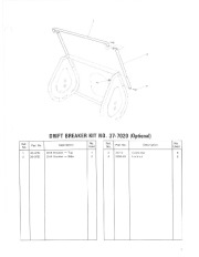 Toro 38052 521 Snowthrower Parts Catalog, 1984 page 7