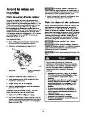 Toro 38053 824 Power Throw Snowthrower Manuel des Propriétaires, 2002 page 14