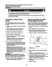 Toro 38053 824 Power Throw Snowthrower Manuel des Propriétaires, 2002 page 21