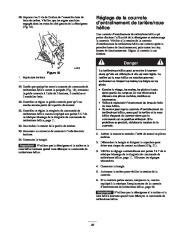 Toro 38053 824 Power Throw Snowthrower Manuel des Propriétaires, 2002 page 25