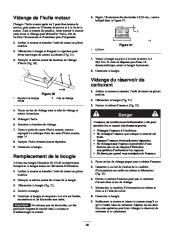 Toro 38053 824 Power Throw Snowthrower Manuel des Propriétaires, 2002 page 28