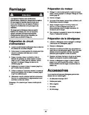 Toro 38053 824 Power Throw Snowthrower Manuel des Propriétaires, 2002 page 29