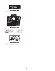 Toro 38053 824 Power Throw Snowthrower Manuel des Propriétaires, 2002 page 8