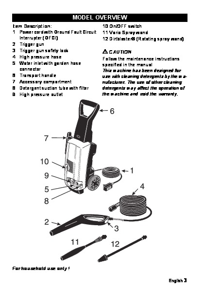 k rcher k 3 99 m 1650 psi electric power high pressure washer owners rh filemanual com Real Rock 99.3 Karcher 3 99 Parts