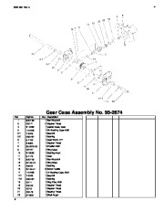Toro 38053 824 Snowthrower Parts Catalog, 2000, 2001 page 4
