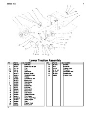 Toro 38053 824 Snowthrower Parts Catalog, 2000, 2001 page 6