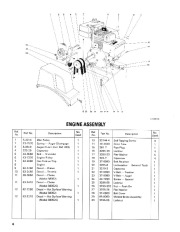 Toro 38052C 521 Snowthrower Parts Catalog, 1989 page 4