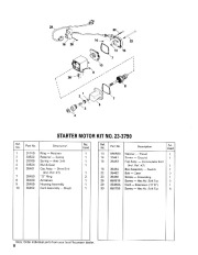 Toro 38052C 521 Snowthrower Parts Catalog, 1989 page 8