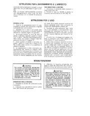 Toro 38054 521 Snowthrower Manuale Utente, 1990 page 11